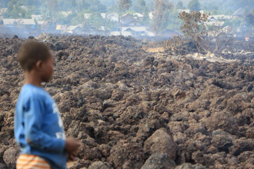 RD Congo : notre réponse après l'éruption du volcan Nyiragongo