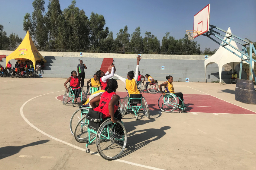 """Ethiopia: """"Wheelchair Basketball became my ultimate source of happiness"""""""