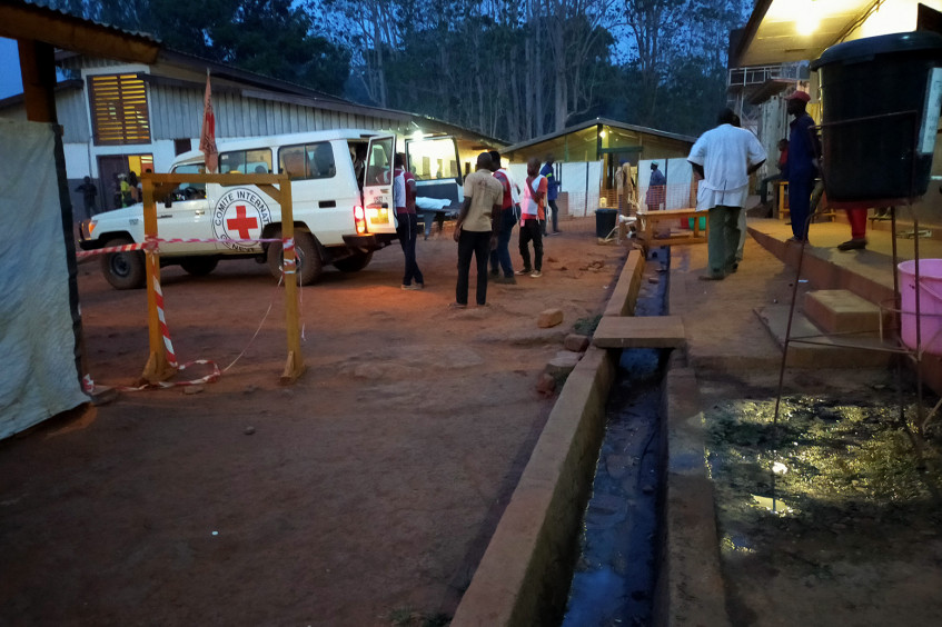 Central African Republic: The ICRC transports 25 wounded to Bambari Hospital