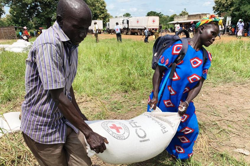 红十字国际委员会在南苏丹的人道应对行动:2020年1月至6月