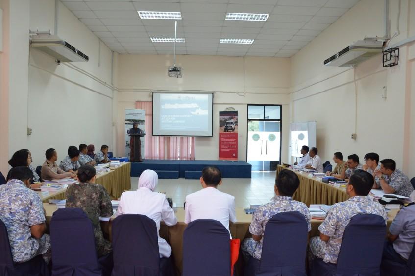 马来西亚:军队律师深入研究海上武装冲突法