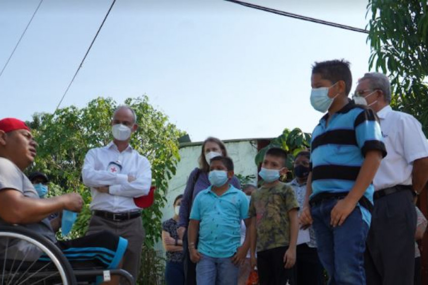 ICRC vice-president Gilles Carbonnier travels to El Salvador and Honduras to address the impact of violence