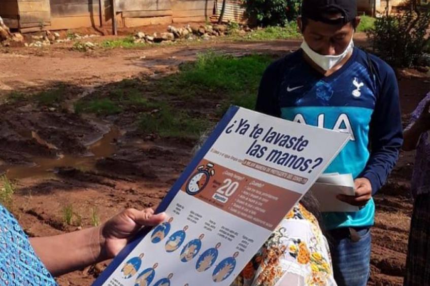 Guatemala: respuesta del CICR en Guatemala ante la emergencia covid-19