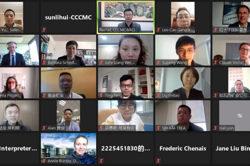 ICRC, DCAF hold webinar for Chinese companies on Voluntary Principles