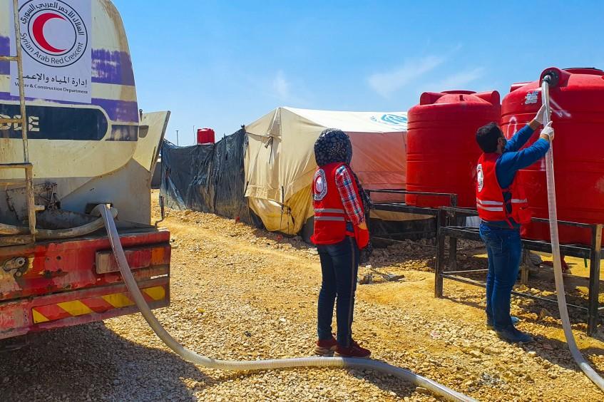 Северо-восток Сирии: миллионы людей страдают от перебоев с водоснабжением и недостатка медицинской помощи