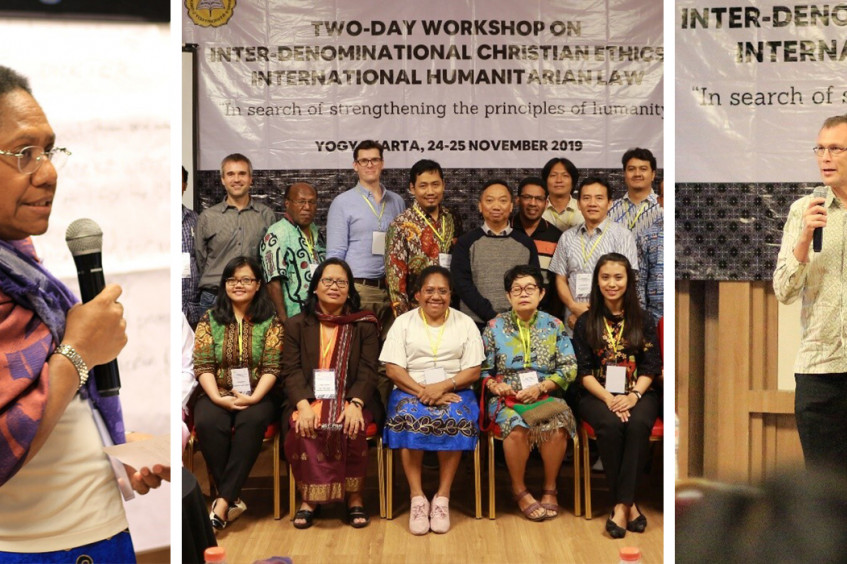 Indonesia: Inter-denominational Christian ethics and IHL workshop with Sanata Dharma University