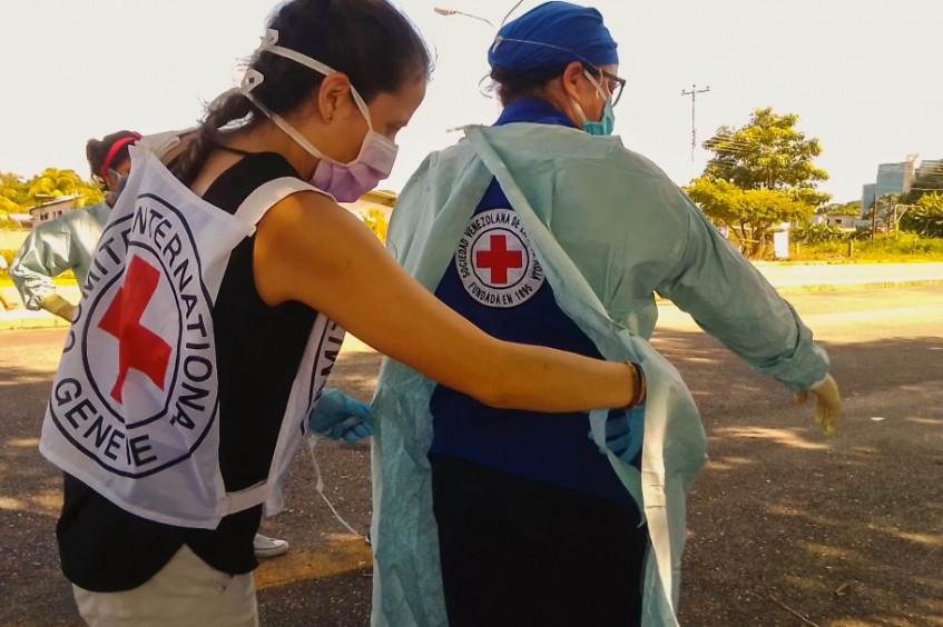 Día Mundial de la Cruz Roja en Venezuela: una fuerza imparable en beneficio de quienes más lo necesitan