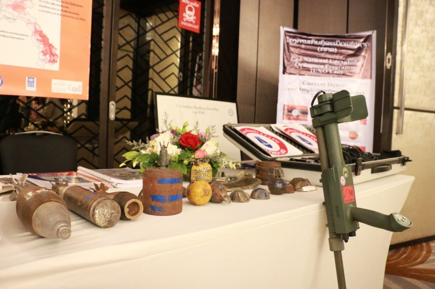 Vientiane: Experts discuss landmine-related risks during first regional seminar