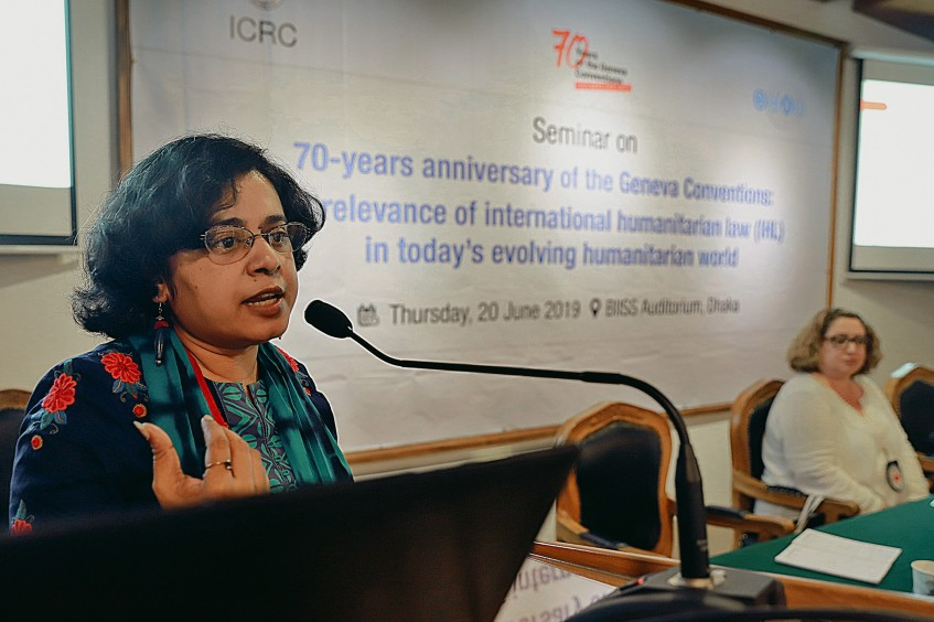 Bangladesh: Experts discuss relevance of Geneva Conventions amid today's challenging humanitarian contexts