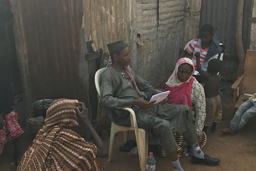 République centrafricaine: une famille réunie après cinq années de séparation