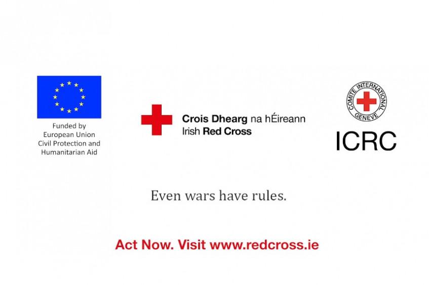 Campagne UE-CICR et Croix-Rouge Irlandaise #NotATarget