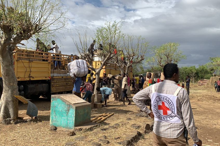Ethiopia: ICRC, ERCS deliver emergency assistance to IDPs in Southern Ethiopia