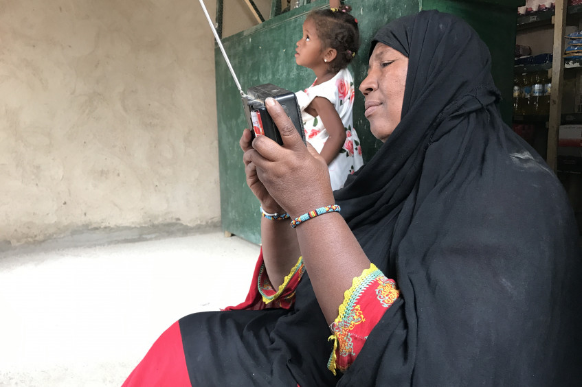 Riposte contre la Covid-19 au Mali : l'information comme aide humanitaire.