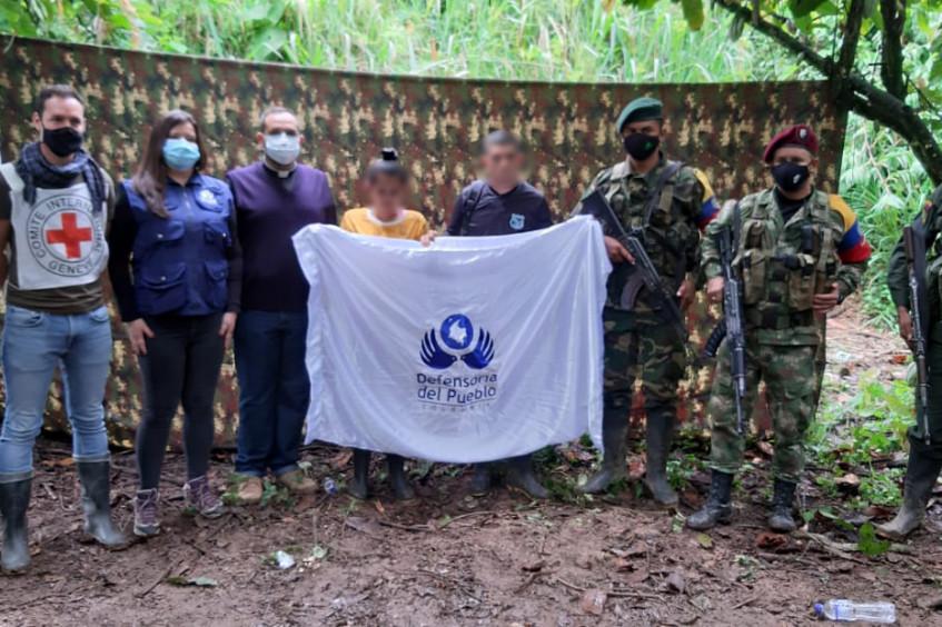 Colombia: liberación de dos civiles en Norte de Santander
