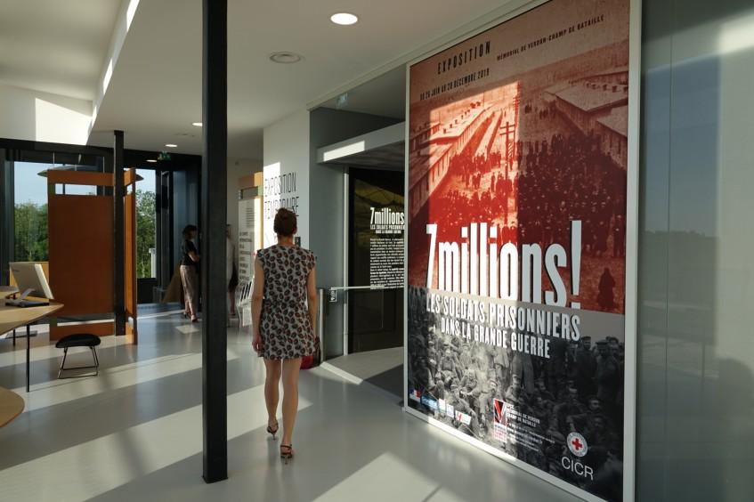 Exposition : 7 millions ! Soldats prisonniers dans la grande guerre