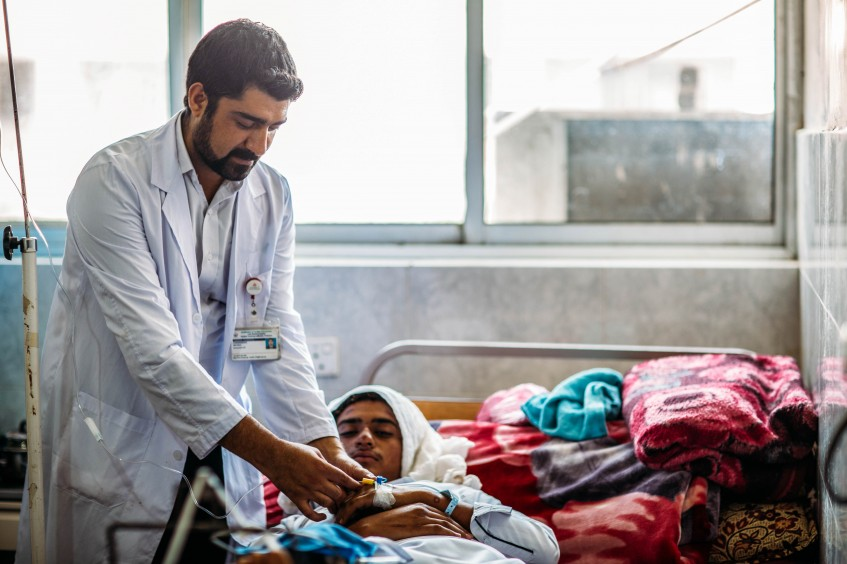 Transforming experiences: Supporting health-care facilities at Lady Reading Hospital, Peshawar