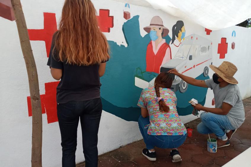México: Cruz Roja inaugura módulo comunitario en Acapulco, como un espacio seguro y de fortalecimiento al tejido social