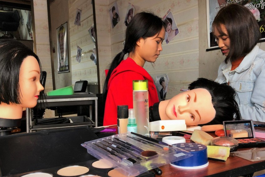 Myanmar: A tough life made beautiful, in her very own salon
