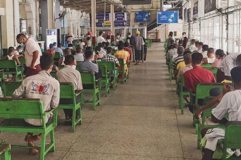 缅甸:帮助被拘留者安全回家