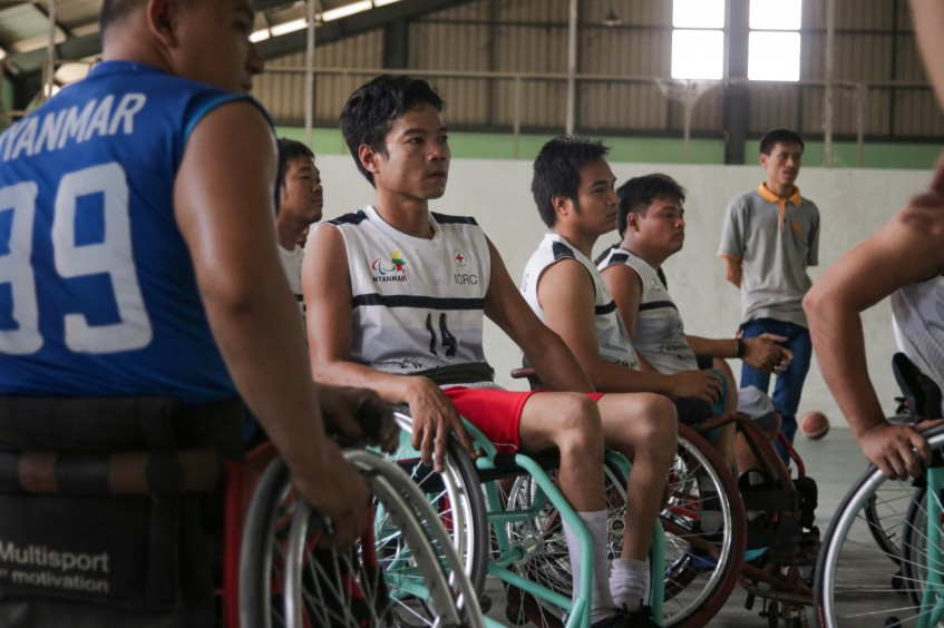 Myanmar: Passion and Persistence are Coach Joe's Mantra for Wheelchair Basketballers