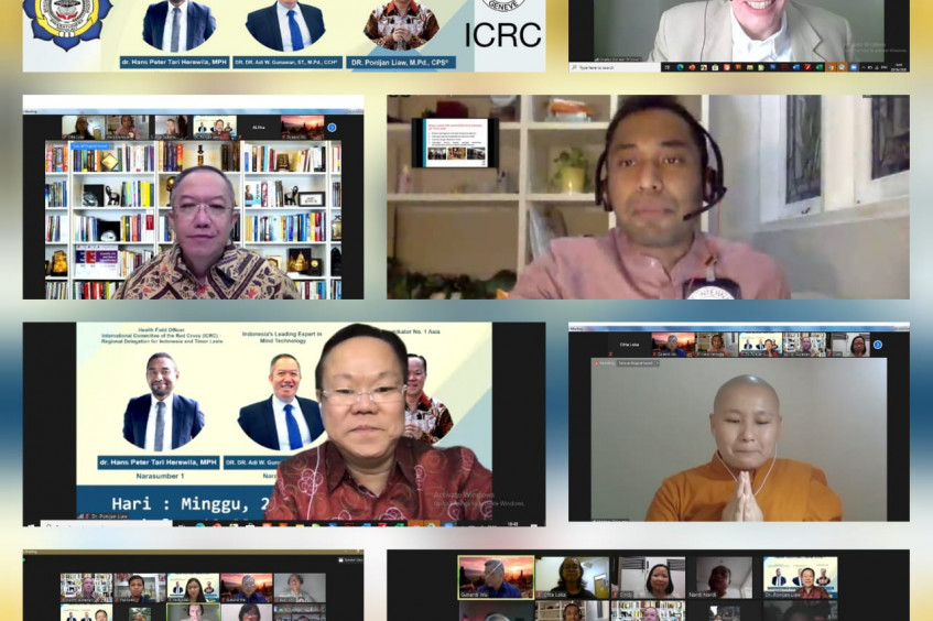 "Webinar: ""New life, new normal"" by Smaratungga Buddhist College and ICRC"