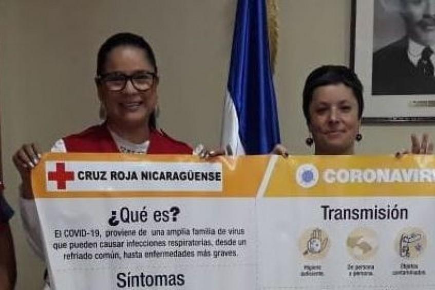 Nicaragua: CICR entrega fondos a la Cruz Roja Nicaragüense para enfrentar la COVID-19 y fortalecer su respuesta humanitaria.