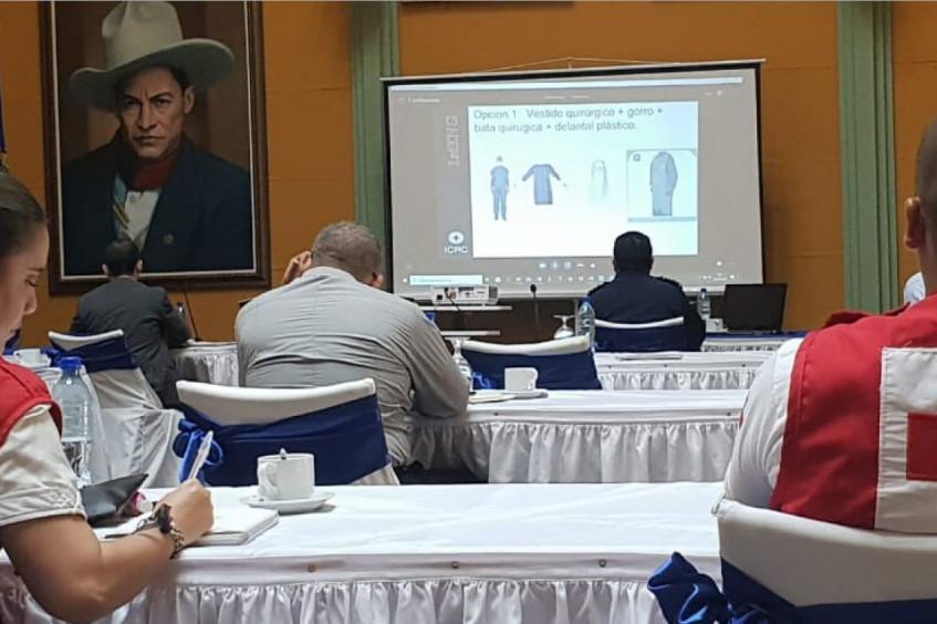 Nicaragua: actividades para responder a la COVID-19