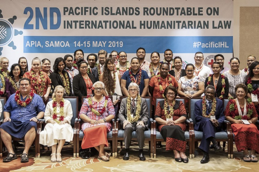 Samoa co-hosts Pacific Islands round table on International Humanitarian Law
