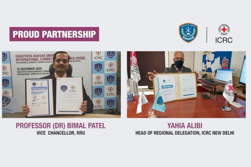 India: ICRC signs MoU with Rashtriya Raksha University