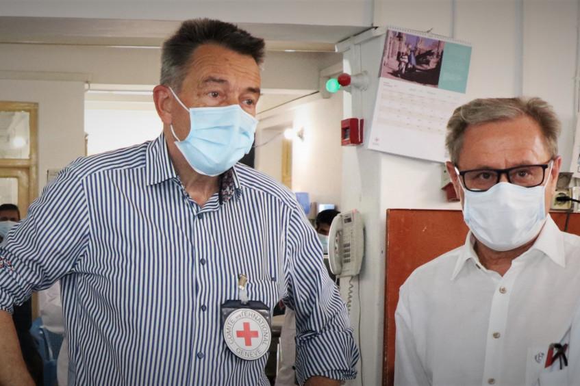 Visite du président du CICR en Afghanistan