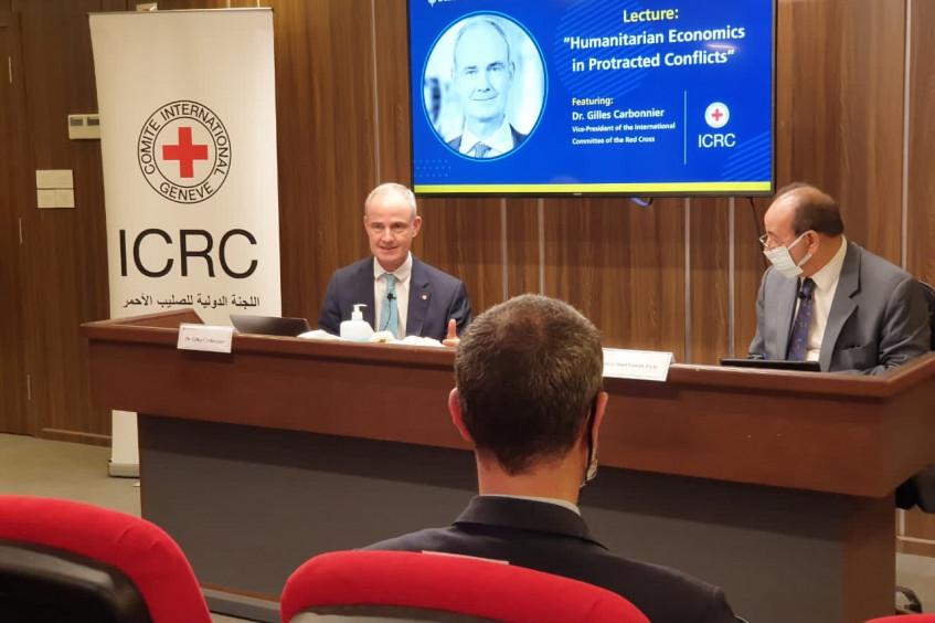 الاقتصاد الإنساني: نائب رئيس اللجنة الدولية للصليب الأحمر يتحدث عن كيفية معالجة النزاعات المُطَوَلة