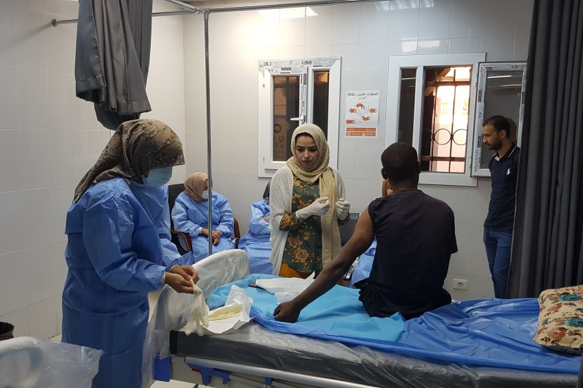 """""""People live in fear"""" – A clinic on the front lines of Libya's war"""