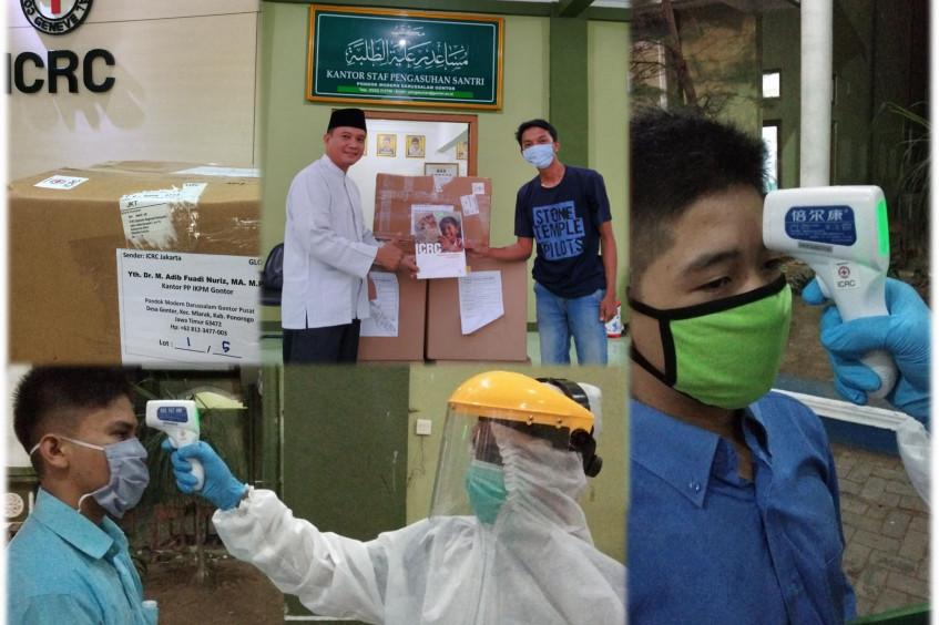 COVID-19: ICRC backs preventive measures in Pesantren Gontor Islamic boarding school