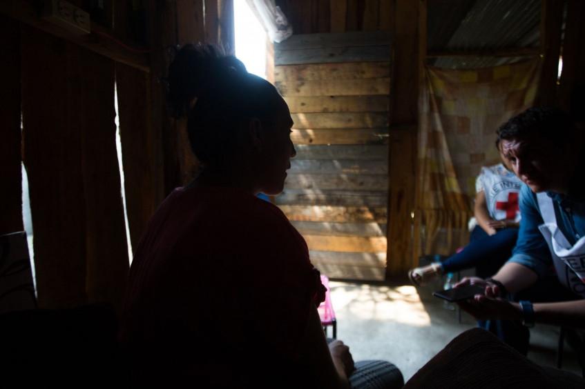 Honduras: Desplazadas