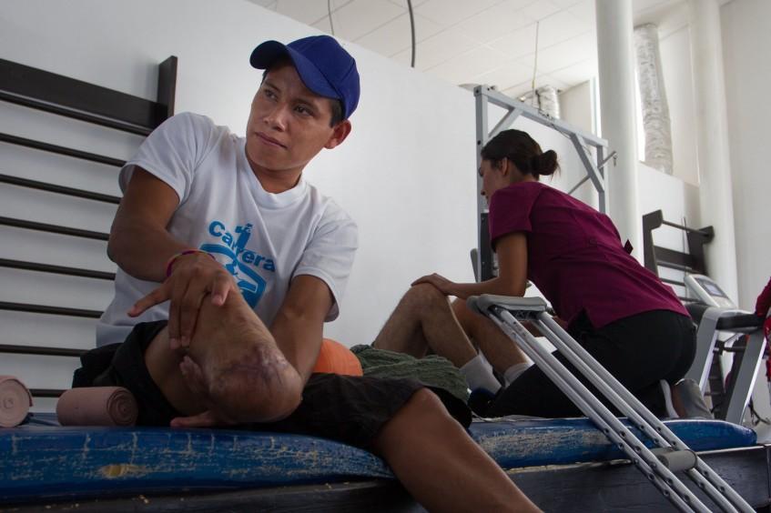 México y América Central: programa de rehabilitación física