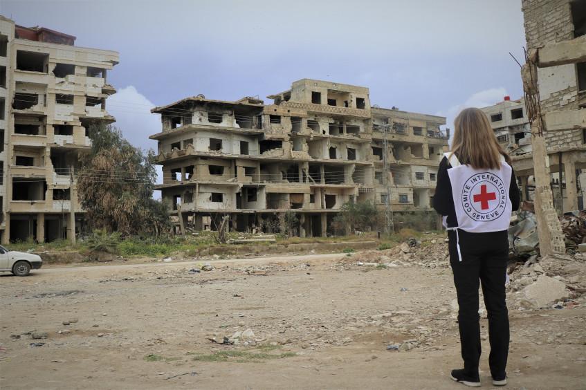从阿富汗到叙利亚:战乱中的维⽣资源系统如何重建