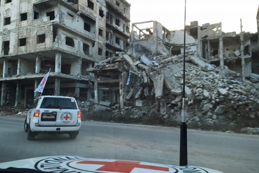 Emploi d'armes explosives dans des villes : il faut mettre un terme aux souffrances civiles