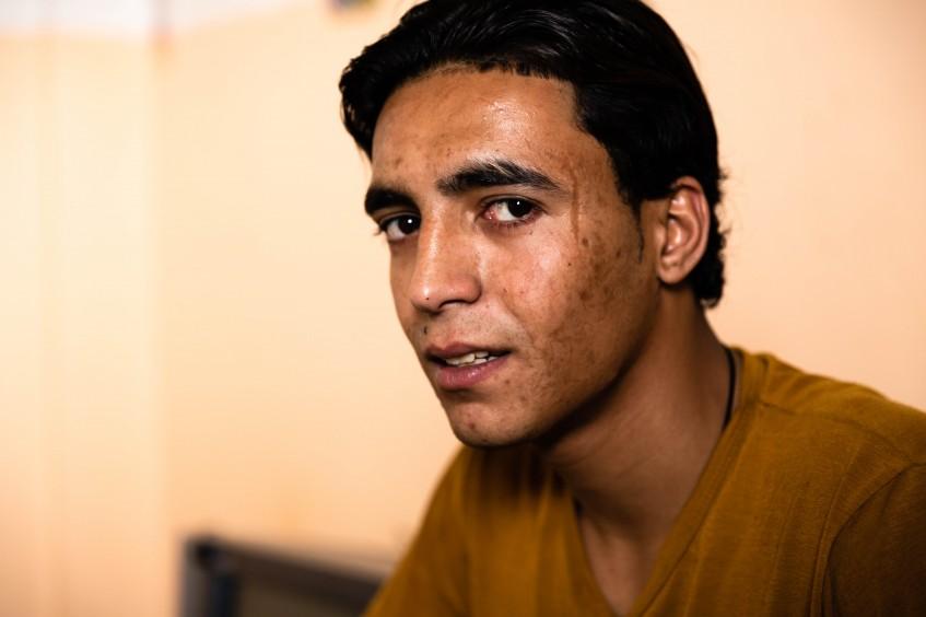 Rien ne bouge jamais : à Gaza, le combat d'un jeune homme amputé pour se reconstruire
