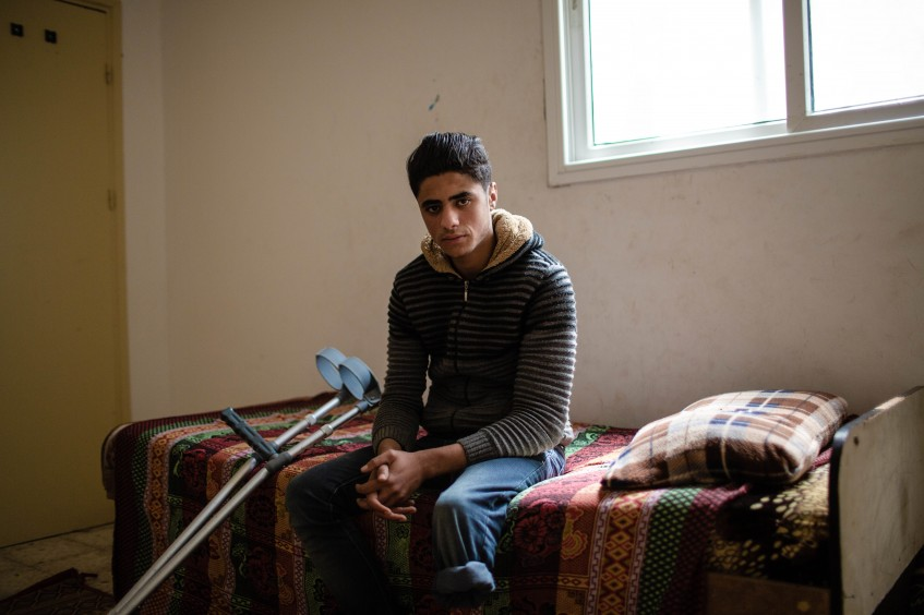 Young amputees in Gaza are striving to put their lives back on track