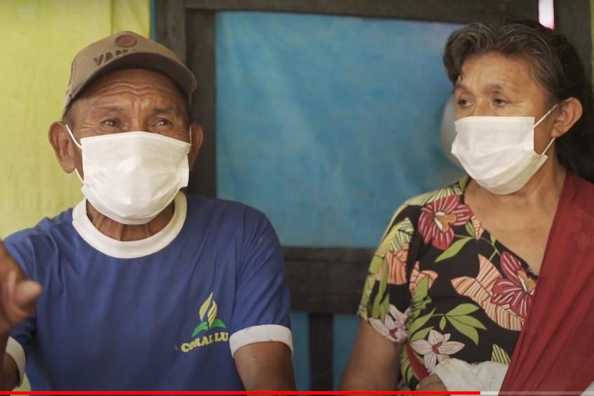 El programa de RCF restablece el contacto entre padres e hijos indígenas pemones en Brasil