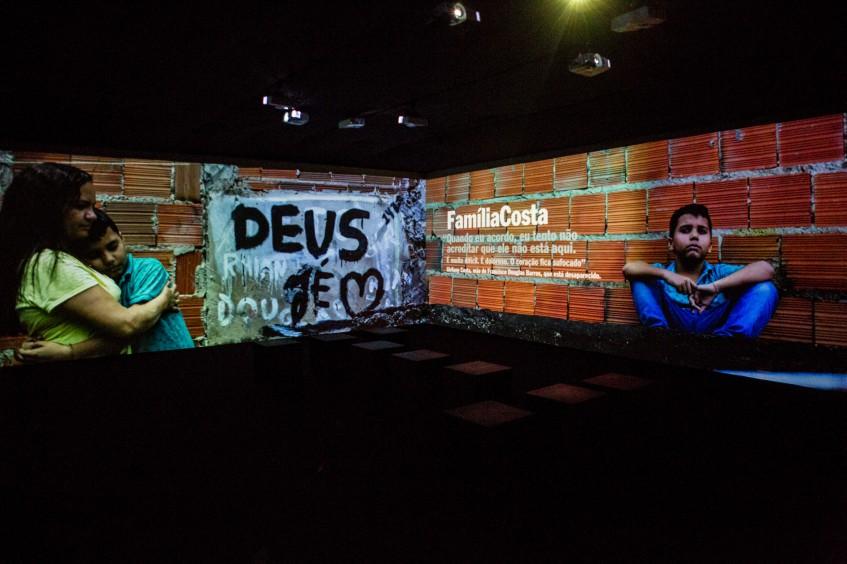Brasil: mostra imersiva sobre familiares de pessoas desaparecidas tem mais de 3 mil visitas em Fortaleza