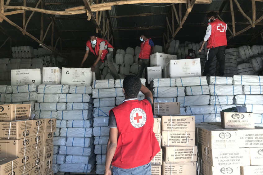 The International Red Cross and Red Crescent Movement scales up its humanitarian response to meet urgent needs in Ethiopia, Sudan and Djibouti