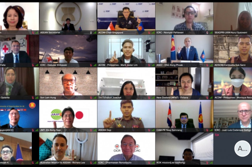 3rd ASEAN-ICRC joint platform focuses on adaptation to the evolving 'riskscape' in ASEAN and beyond