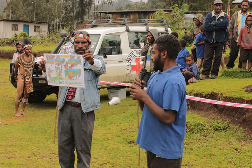 Papua New Guinea – ICRC Activities 2020