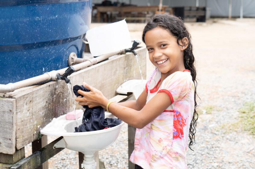 Brasil: Projetos de Água e Saneamento do CICV beneficiam migrantes e população em Pacaraima