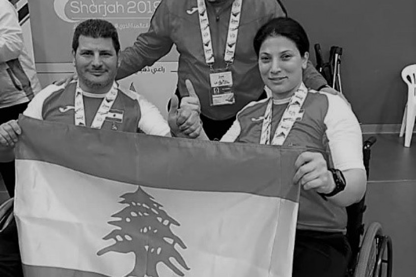 Lebanon: Paralysis doesn't stop Naji's success