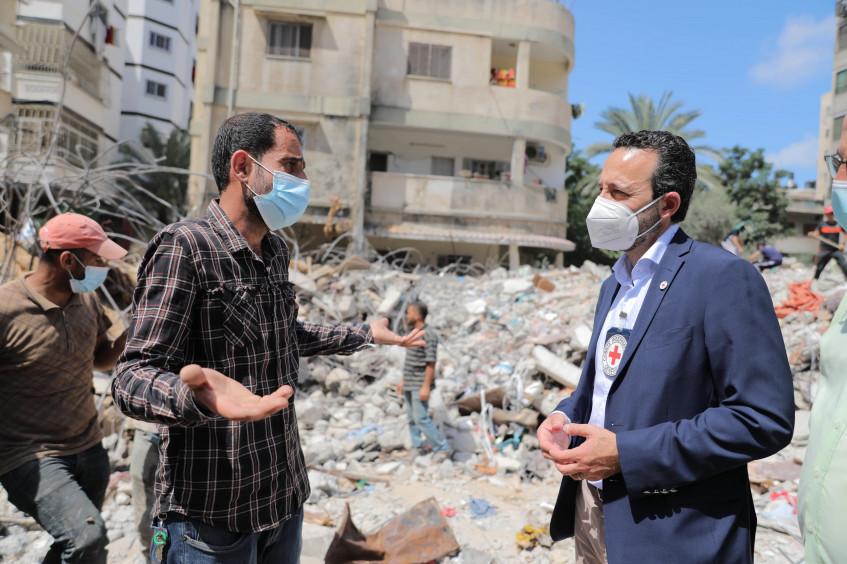 Declaración de Robert Mardini, director general del Comité Internacional de la Cruz Roja, tras su visita esta semana a Israel y el territorio palestino ocupado