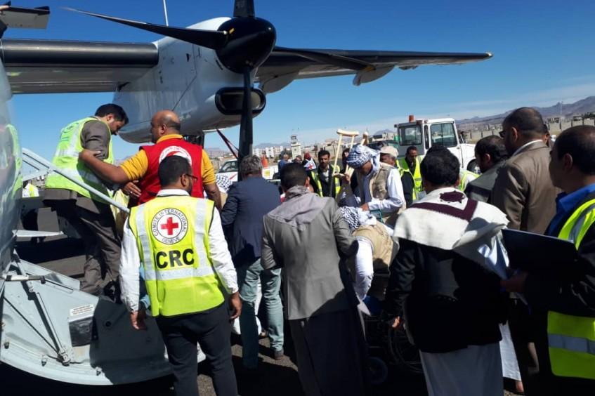CICV facilita a repatriação de 128 detidos da Arábia Saudita para o Iêmen
