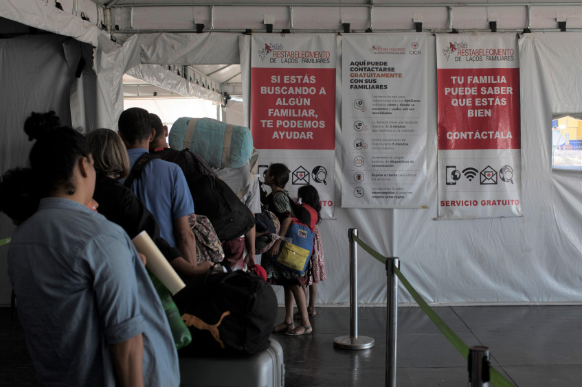 Red Cross steps up support to Venezuelan migrants, including refugees, across 17 American countries