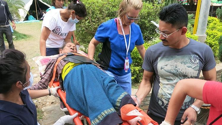 """Médicos em um hospital nepalês: """"Estamos em uma guerra sem inimigos"""""""